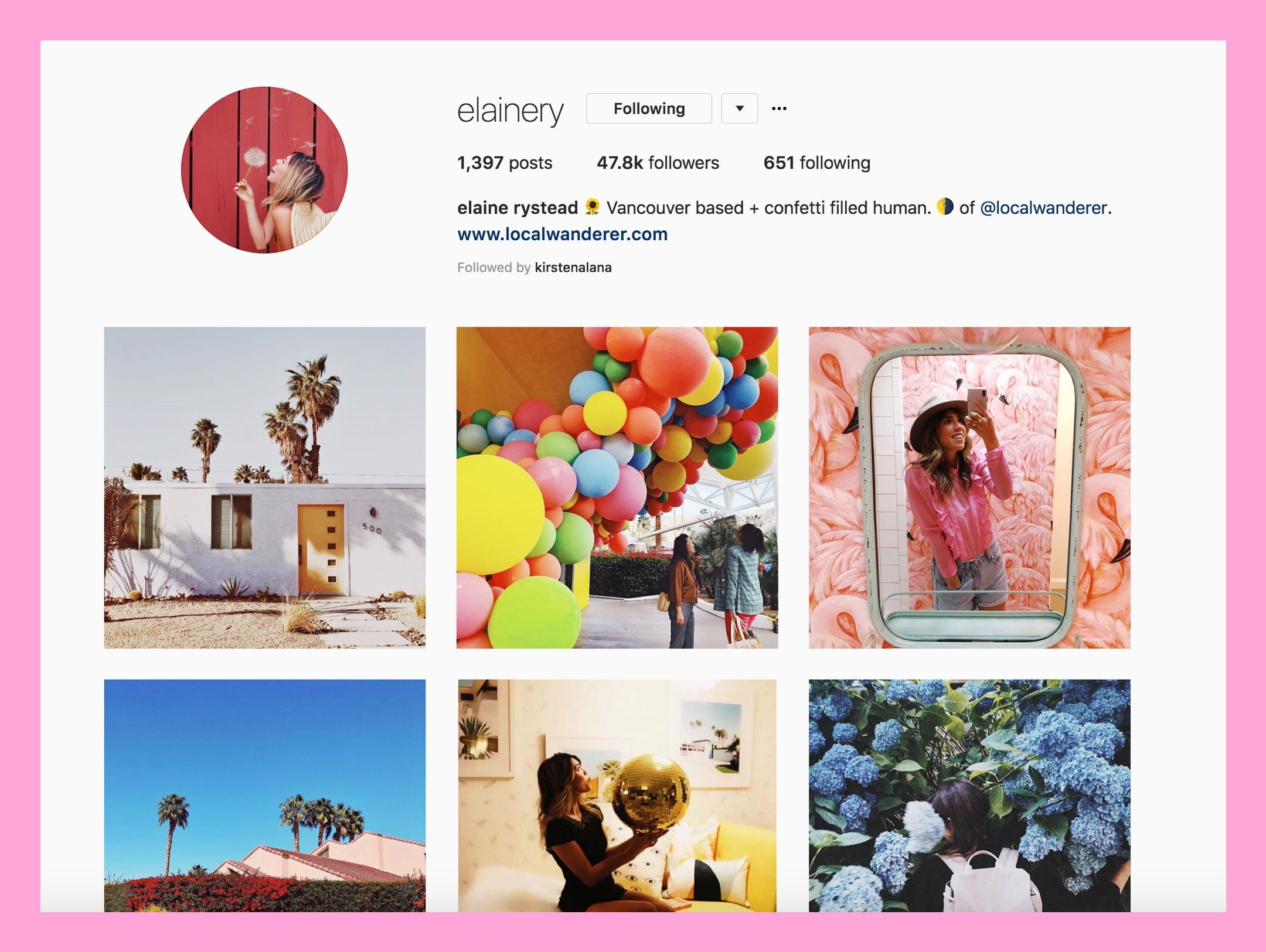 Empowering Instagram accounts to follow this 8th of March