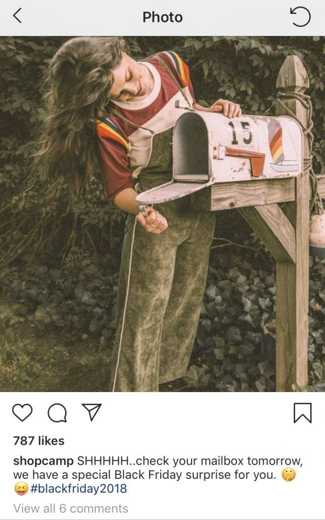 Blackfriday mailbox