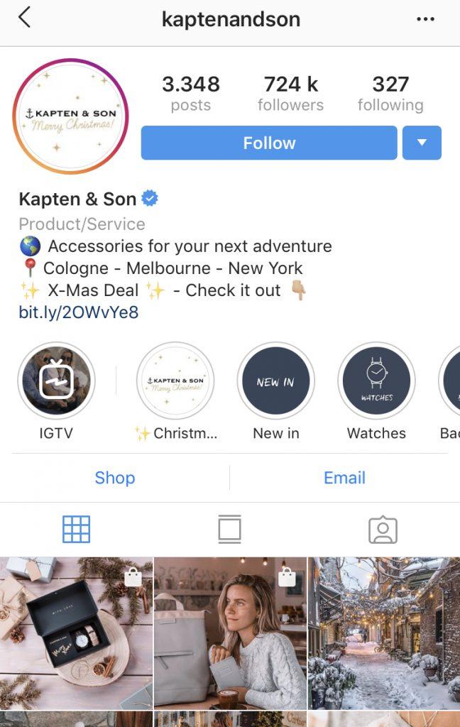Holiday Instagram Marketing tips -