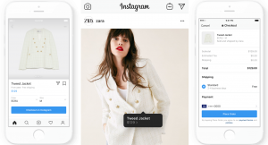Instagram Shopping Checkout Feature