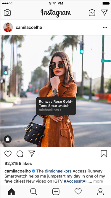 Shoppable Instagram Creators