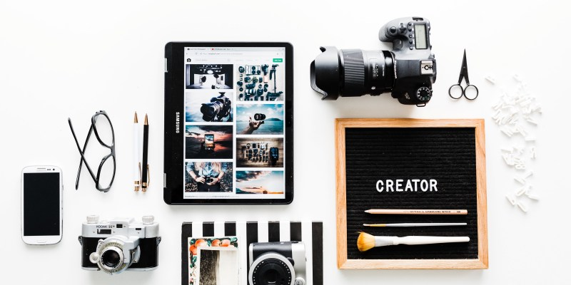 Types of content - video and photo