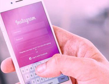 How do Instagram accounts get hacked - Instagram login screen