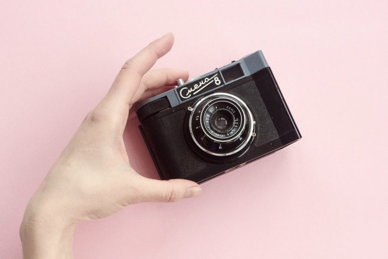 Instagram photography camera